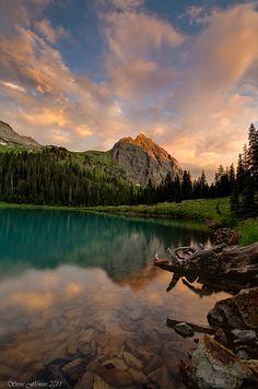 Lower Blue Lake, Mt. Sneffels Wilderness, Ridgway Colorado