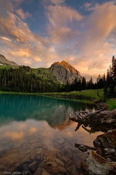 Lower Blue Lake, Mt. Sneffels Wilderness, Ridgway Colorado