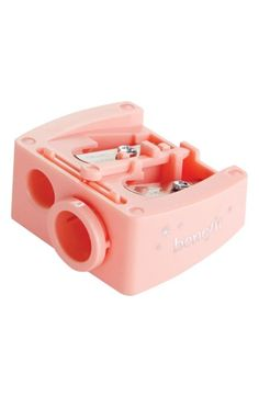 $5 Benefit All-Purpose Pencil Sharpener at Nordstrom.com. What it is: A universal sharpener that keeps your pencils on point.What it does: It adjusts to fit three pencil sizes, from standard to jumbo, and sharpens brow and eye pencils to a perfect tip for precise application. It features a blade-cleaning tool and removable size adjuster.