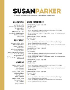 2 Page Resume Sample Glamorous Modern Clean Resume Template For Microsoft Word With 2Page Resume .