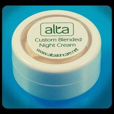 Night Cream Face Moisturizer Custom Natural by AltaSkincare, $5.77