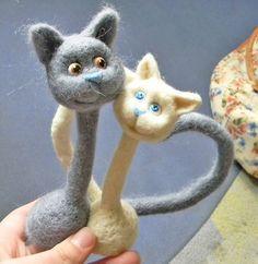 Мастер класс по созданию парных кошек