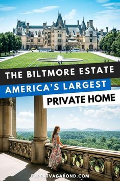 The Biltmore Estate: Visiting America's Largest Private Home! Click here to find out more #America #USA #UnitedStates #Travel #Biltmore #Home
