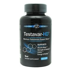 Testavar-HD 180 Caps by Advanced Nutrient Science Intl Low Testosterone Symptoms, Testosterone Booster, Exercise For Six Pack, Six Pack Abs, Magnesium Oil, Bodybuilding Nutrition, Muscle Mass, Health And Beauty