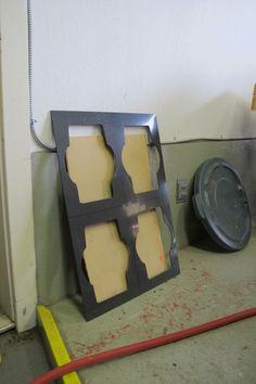 Envelope Deckle for 6 - moulds and deckles - LCCM Paper Studio & Equipment | Lost Coast Culture Machine