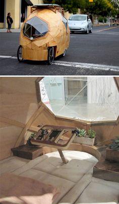 camper wheeled road car