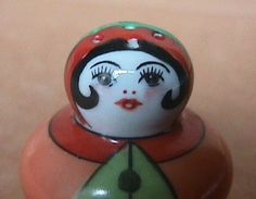 Noritake Art Deco Lustre Figural Flapper Salt Shaker Large Hole Free SHIP No RS | eBay