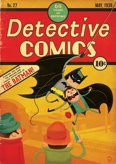 Detective Comics by Mud!