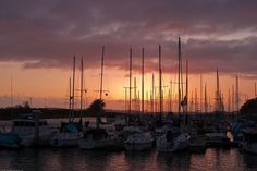 Morro bay California Sunset