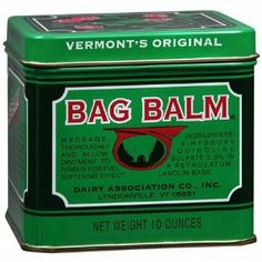 Special pack of 6 BAG BALM OINTMENT 10oz DAIRY ASSOCIATION CO. by Choice. $48.65