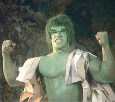 Lou Ferrigno IS the Incredible Hulk :)
