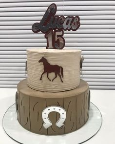 Dad Birthday, Birthday Party Themes, Cowboy Theme Party, Cowboy Cakes, Horse Cake, Cake Toppers, Desserts, Food, Country Birthday Cakes