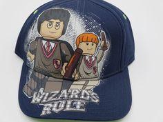 Lego Harry Potter Blue Bioworld Youth Childrens Size Snapback Hat  #Bioworld #BaseballCap  #Lego Harry Potter