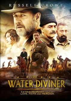 The Water Diviner (2014) movie #poster, #tshirt, #mousepad, #movieposters2