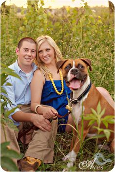 Aves Photography Dallas Fort Worth Vintage Engagement Portraits with Dog in a Field 2662 Brittany and Daniel.   Dance. Love. Sing. Live.
