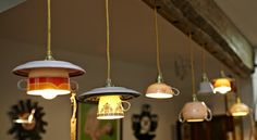 "unique lighting/ recycling ideas from ""Liselotte"" that sells handy DIY kits!!! me like!nc #lighting #design"