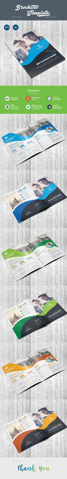 Brochure Design Template Vector EPS, AI Illustrator. Download here: https://graphicriver.net/item/brochure/22090846?ref=ksioks
