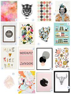 Rien de mieux pour personnaliser son intérieur à petits prix qu'en y exposant une sélection de jolies affiches: illustrations, messages, collages, peintures, et autres posters apportent une touche graphique, pour réveler notre personnalité ou nous inspirer au quotidien. De mon côté, c'est vraiment ce qu'il manque à ma déco; je suis amoureuse de mes meublesLire la suite…
