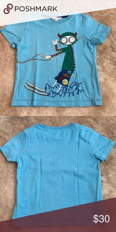 Little Marc Jacobs aqua tee size 4 Little Marc Jacobs aqua tee size 4 like new! Little Marc Jacobs Shirts & Tops Tees - Short Sleeve