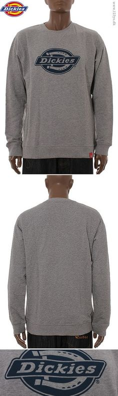 Dickies sweatshirts i grå farve med Dickies logo print  XTREME SHOP / www.123yo.dk