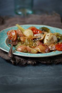 Madame Gateau: Salade de légumes rôtis