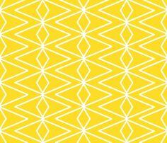 Big Golden Diamonds fabric by fable_design on Spoonflower - custom fabric