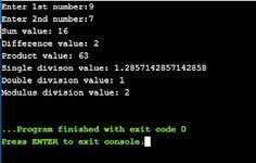 Coders World: Sample programs: Functions basics