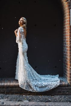 Our Mia bridal gown is for the timeless, classic beauty. Made with detachable flutter sleeves and floral lace appliqués, Mia is truly a show-stopper. Bridal Outfits, Bridal Gowns, Wedding Dresses, Boho Bride, Boho Wedding, Lace Gowns, Classic Beauty, Floral Lace, Brides