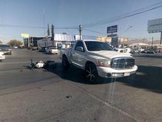 Choca motociclista contra pickup en la avenida Agustín Melgar | El Puntero
