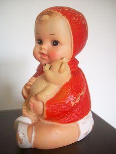 Boneca vinil - Estrela - Brasil - anos 60