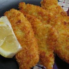Crispy Fish Fillets Recipe