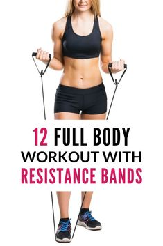 Easy Weight Loss, How To Lose Weight Fast, Losing Weight, Resistance Band Exercises, Workout Exercises, Workout Routines, Workout Videos, Hiit Program, Glute Bridge