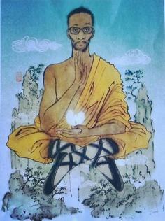 the RZA, wu tang clan Wu Tang Clan, Yuko Shimizu, Vibe Magazine, Hip Hop Art, Art Forms, Illustrators, African, Drawings, Musica