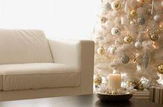 Glam holiday decorating