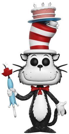 Dr. Seuss Cat in the Hat With Umbrella Vinyl Figure 10