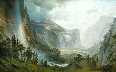 Albert Bierstadt - Domes of the Yosemite