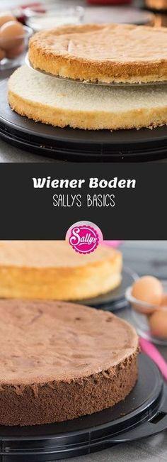 Der Wiener Boden ist ein saftiger, feinporiger und stabiler Grundteig, der sich als Grundteig für alle Torten eignet.