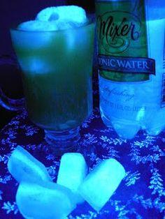 Easy Peasy Lemon Squeezy: Glow in the Dark Jello & Ice