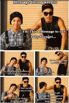 Taeyang and G-Dragon's message to Seungri