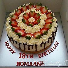 "143 Likes, 13 Comments - CakesBy.E - Bradford Based (@cakesby.e) on Instagram: ""10"" Birthday cake #instacakes#instadaily#igdaily#cakestagram…"""