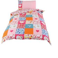 Buy Caravan Patchwork Girls Set - Single at Argos.co.uk, visit Argos.co.uk to shop online for Children's bedding sets