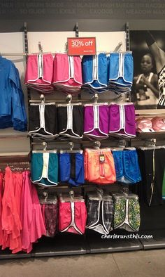Nike Tempo shorts...hard to choose just one!