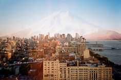 Impossible Landscapes: NY vs RJ and Mt. Fuji (by Ciro Miguel | website)