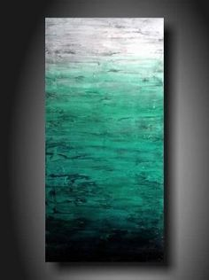 DIY Textured Canvas Art | DIY art idea: Great colors and texture in this ... | Feeling Crafty ... by batjas88