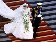 Princess Diana Wedding.  I remember being woken up at 4:00 in the morning to watch this live on TV.