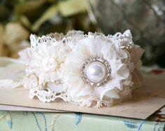 Pearl Bracelet, Cuff Bracelet, Bridesmaid Bracelet, Bride Bracelet, Wrist Corsage, Wedding Corsage, Bridal Corsage, Shabby Chic Cuff, Prom