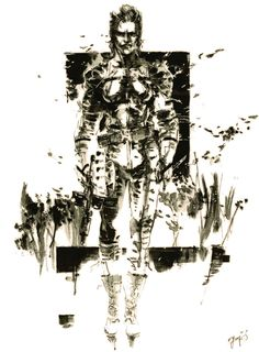 The Boss - Pictures & Characters Art - Metal Gear Solid 3: Snake Eater