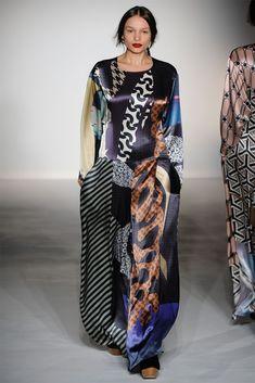 Digital Matisse looks – Basso and Brook Fall 2012  catwalks