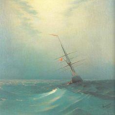 Ivan Aivazovsky, Blue Wave, 1876