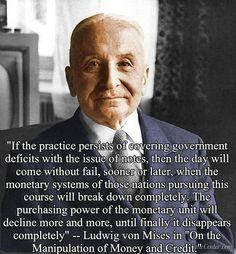 Overheidsschuld - Ludwig von Mises